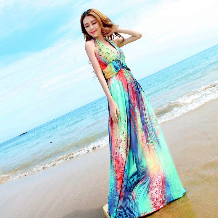 Musim panas Backless Maxi dress, 2015 wanita Desigual Plus ukuran gaun panjang, Jubah De Plage pantai Strapless Roupas Bodycon Vestido Boho(China (Mainland))