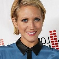Brittany Snow Short Bob Haircut for Busy Ladies