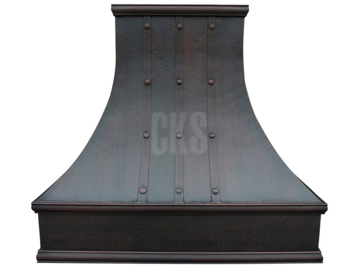 Add a stunning designer look to your kitchen with a beautiful London Copper Stove Hood. Please call (866) 672-3401 with any questions. A designer is always available to help.
