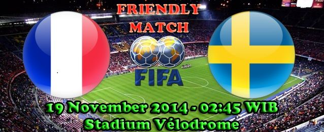 Agen Bola : Prancis Melawan Swedia Dalam Pertandingan International Friendly Match