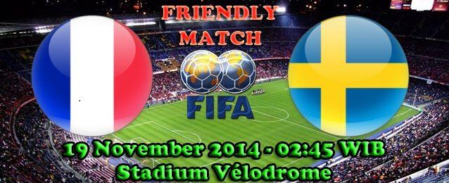 Agen Bola : Prancis Melawan Swedia Dalam Pertandingan International Friendly Match
