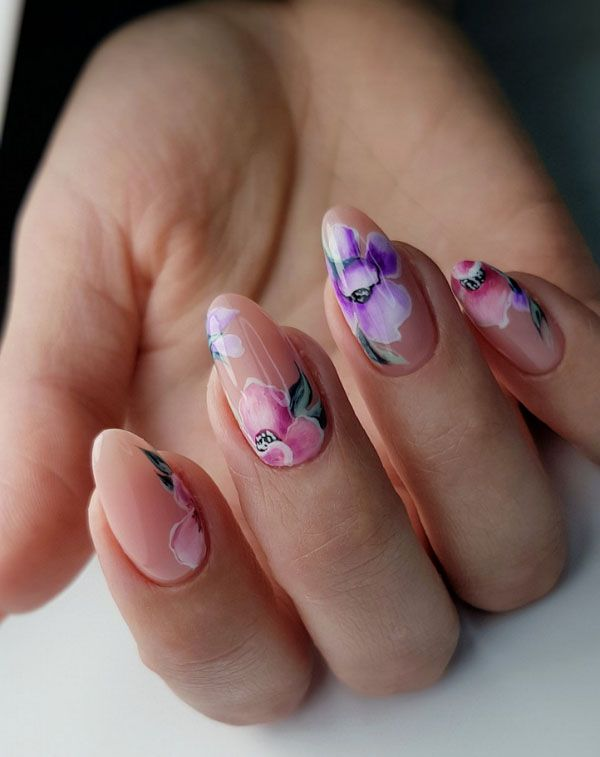 Stylish Spring Nail Designs And Ideas 2020 Flymeso Blog Nail Designs Spring Spring Nail Colors Nail Art Summer