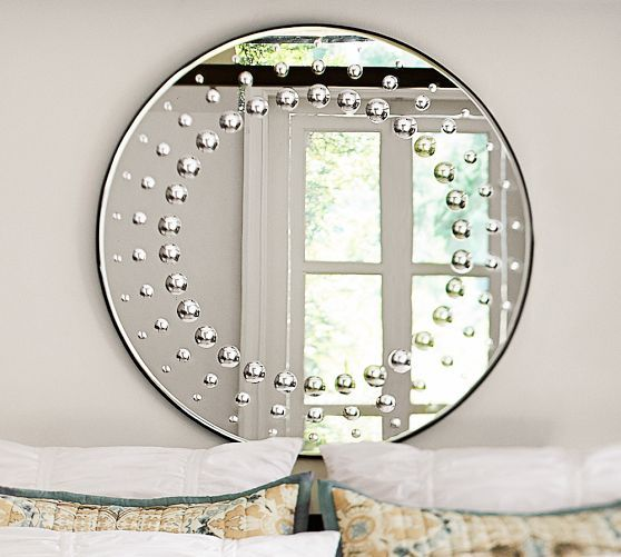 Large Round Mirror Collect Pinterest