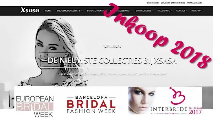 Terwijl het jaar 2017 nog maar 3 maanden oud is, zijn wij alweer druk bezig om een geweldige collectie 2018 voor jullie (toekomstige bruiden) samen te stellen. Onze planning voor de komende periode: • European Bridal Week Essen (april) • Barcelona Bridal Fashion Week (april) • Interbride Dusseldorf (mei)