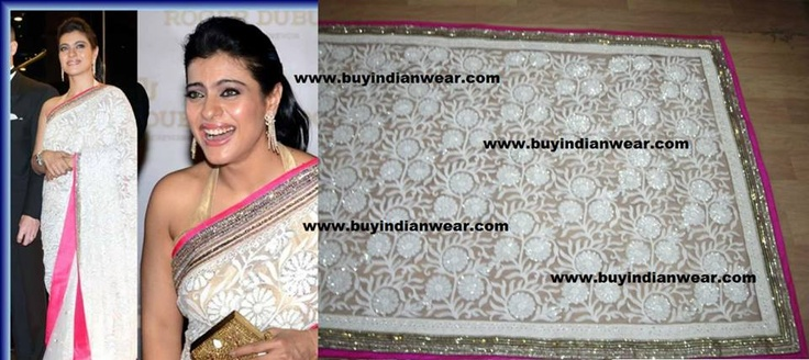 Beautiful Kajol Saree At $119 with free shipping offer only at www.buyindianwear.com