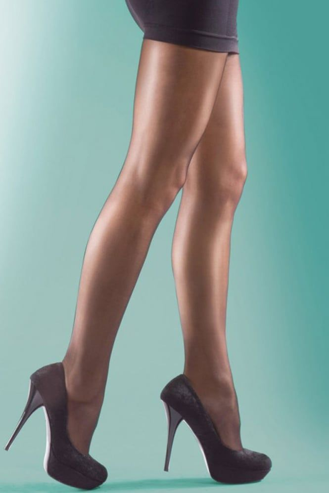 Silky Super Shine 15 Denier Tights Extra Large Size