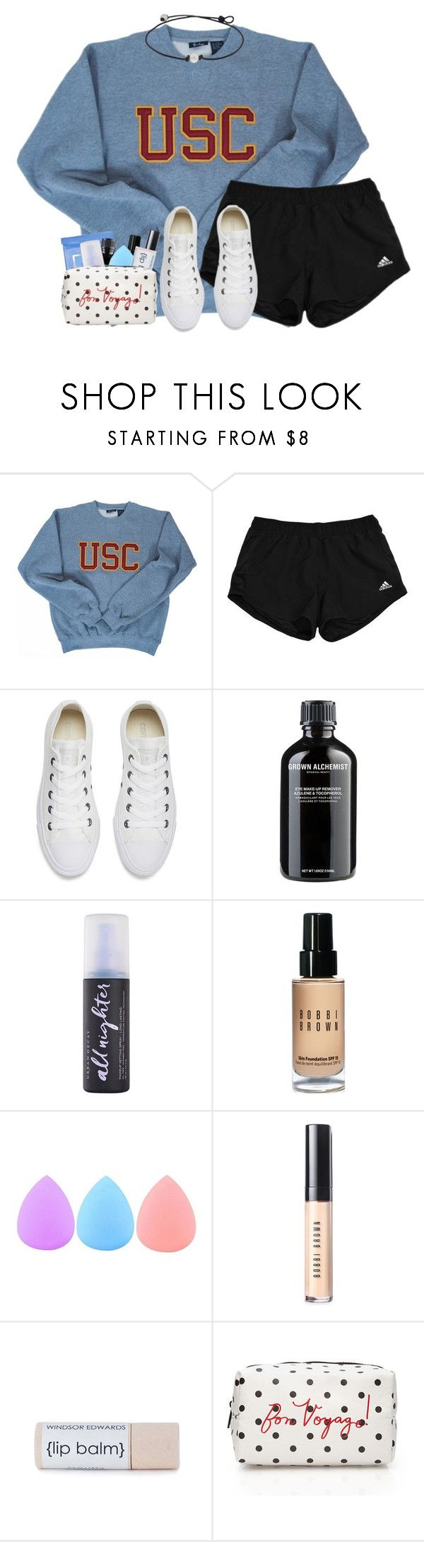 """""""BCC day 4! """" by dejonggirls ❤ liked on Polyvore featuring Oxford, Converse, Neutrogena, Grown Alchemist, Urban Decay, Bobbi Brown Cosmetics, Zodaca, Forever 21 and Biblecampcountdown"""