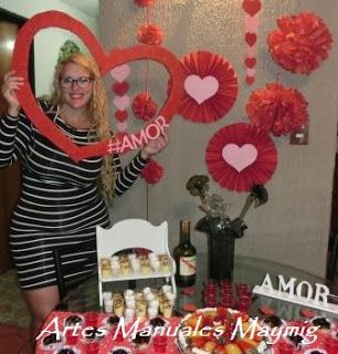 Maymig artes manuales decoraci n d a del amor y la for Decoracion amor y amistad