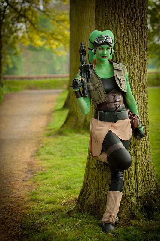 Twi'lek Puck (Star Wars) by Elfia Haarzuilen 2014