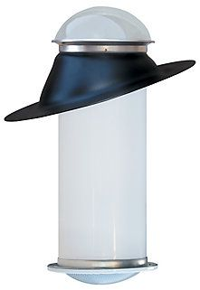 The 10 inch Columbia Rigid Sun Tube provides light coverage up to 150 sq. ft. Sun Tubes are a source of light where regular skylights cannot be installed. Ideal for hallways, laundry rooms, kitchens, walk in closets and bathrooms. Quick, simple installation for any shake or shingle roof. Comes as a complete kit - includes Dome, Roof Jack, Rigid Light Tube, and Prismatic Clear or Soft White Diffuser