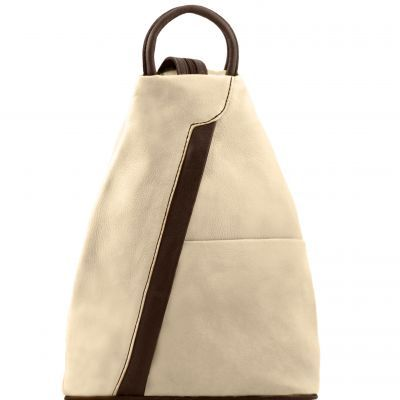 SHANGHAI TL141608 Leather backpack