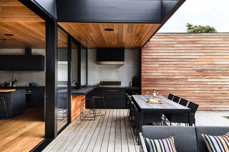 Construa a cozinha perfeita para o jardim – mais de 70 fotos e idéias para a sua própria cozinha de verão   – Garten