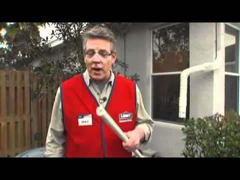 Lowe's How to Make and Install a Rain Barrel-video (extremely informative, taking you step by step)