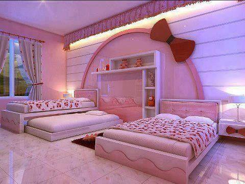 Girls Pink Room