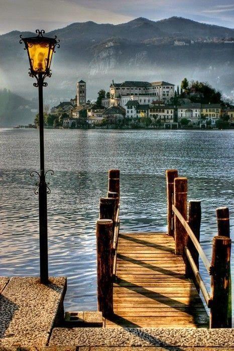 Lake Orta, Italy. #travel #scenery #photography