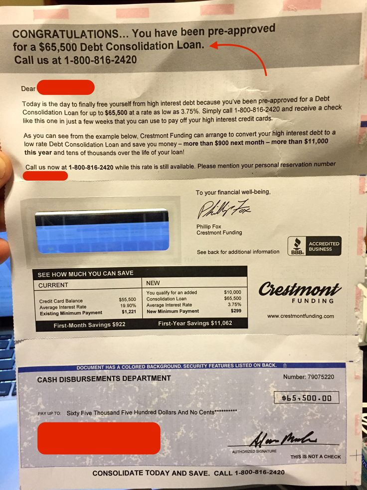 An amazing reader, Shawn, sent in a new debt relief mailer through my I Buy Junk Mail program. He received a mailer from Crestmont Funding for a debt consolidation loan. Shawn wanted to point out the BBB logo was prominently displayed. According to the BBB and the State of North Dakota, the company address is ...
