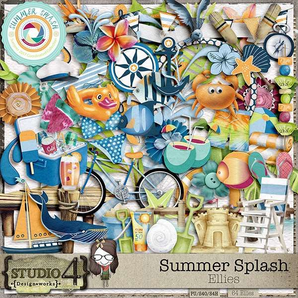 Digital Art :: Element Packs :: Summer Splash - Elements