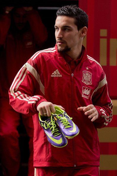 Jesus Navas - Spanish Football Team Outfits Presented