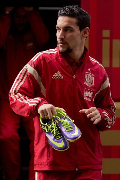 Jesus Navas - Spanish Football Team Outfits Presented