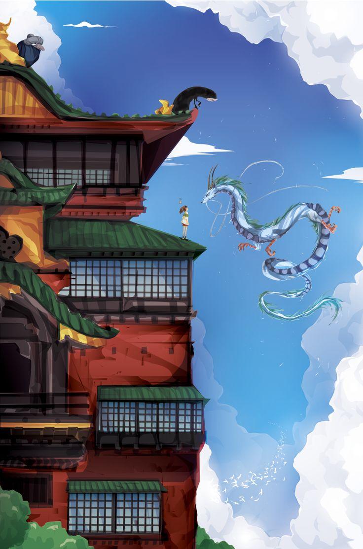Studio Ghibli Fan Art - Created by Justin Currie