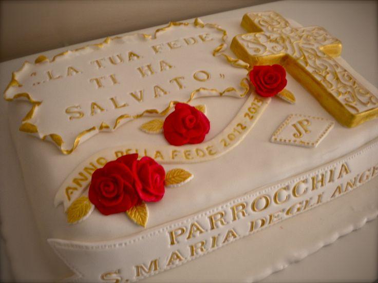 Rose rosse per la parrocchia