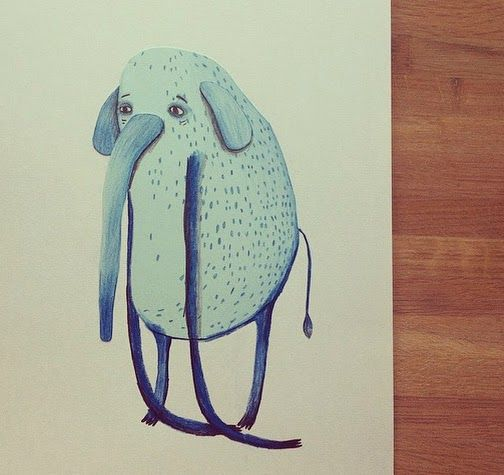 elephant by pernilleE.