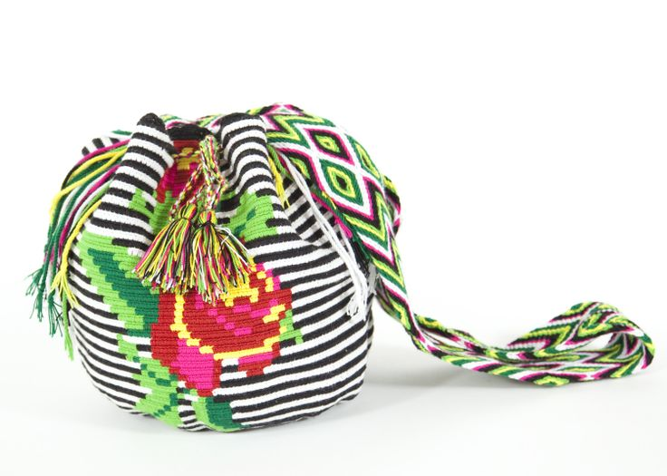 Floral Pachamama Bucket Bag, $169, www.stela9.com // #columbia #bohemian