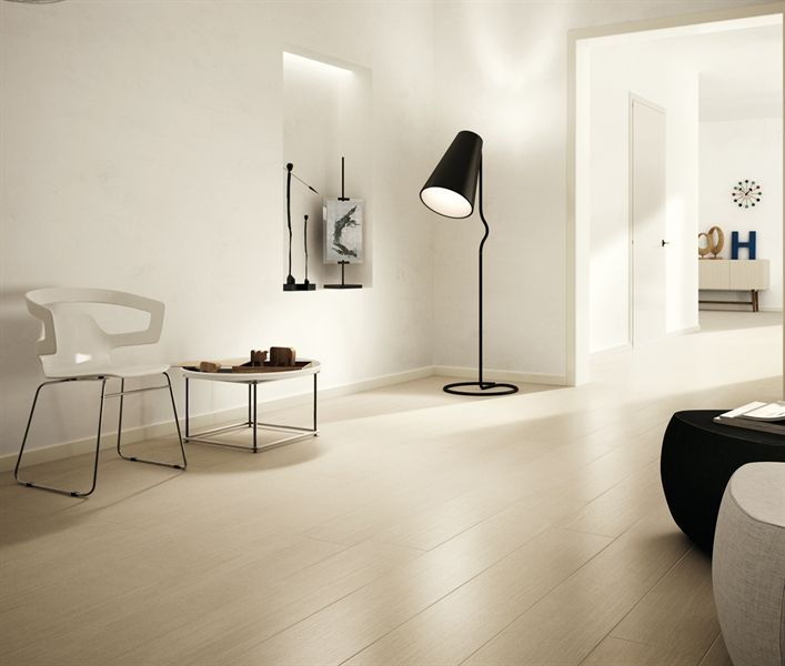 Laminated stoneware wall/floor tiles with wood effect KERLITE OAKS by COTTO D'ESTE