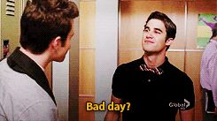 How could anyone have a bad day with Blaine Anderson looking at you the way he looks at Kurt?!?