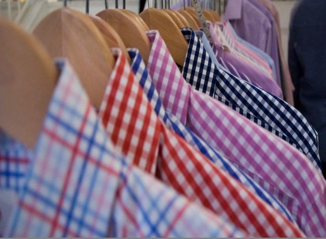 :): Men Clothing, Groomsmen Shirts, Gingham Shirts, Check Shirts, Pretty Colors, Dresses Shirts, Men Fashion, Custom Shirts, Bold Colors