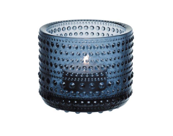 Svícen na čajovou svíčku Kastehelmi od Iittala, rain
