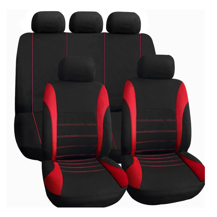 Car Seat Cover 9PCS Full Seat Covers Fit for Cars Covers Auto Interior Styling automobile Seat Cover for Toyota Honda peugeot 2