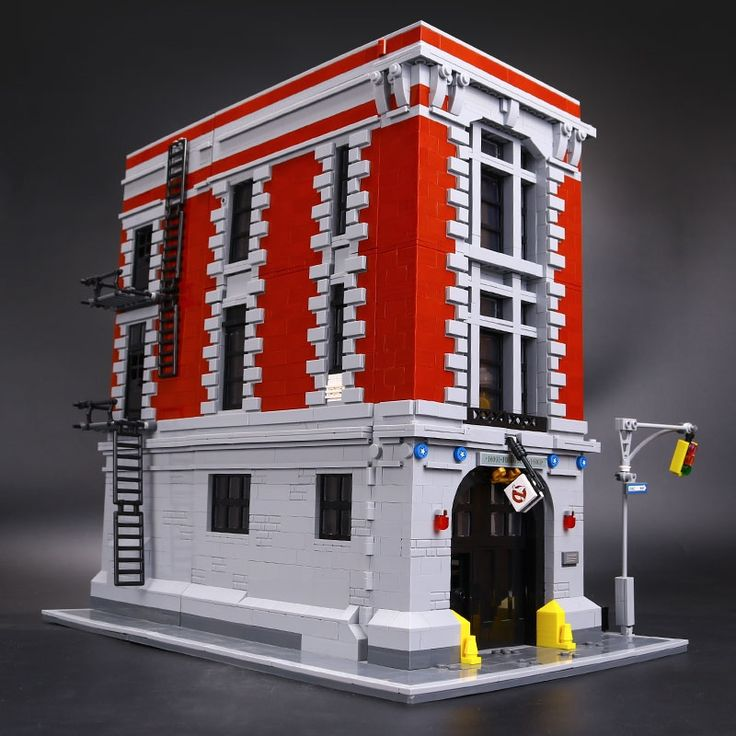 139.00$  Buy now - http://alihre.shopchina.info/go.php?t=32693619034 - LEPIN 16001 4695Pcs Ghostbusters Firehouse Headquarters Model Building Kits Model set Compatible With 75827  #aliexpressideas