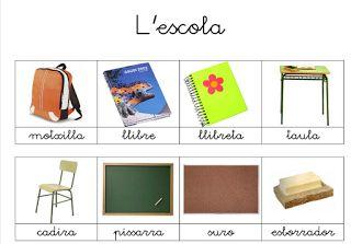 Activitats per educació especial, infantil i primària: VOCABULARI CATALÀ