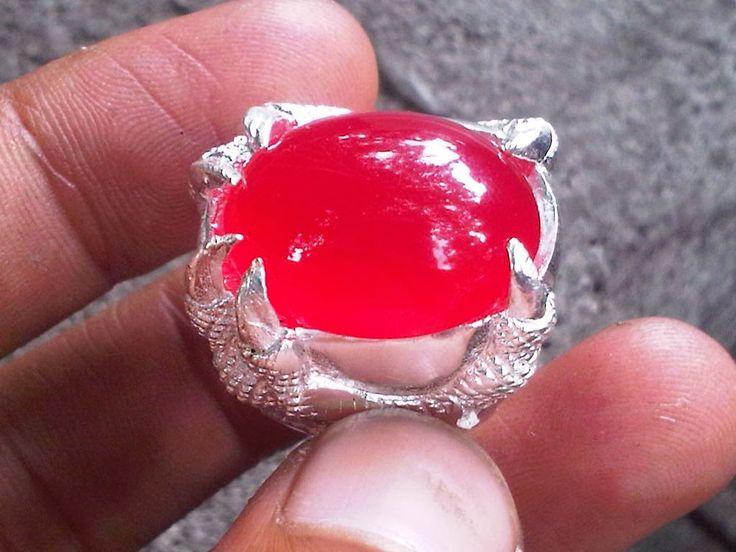 Ciri Ciri Batu Cincin Merah Delima Yang Asli | Pecinta Batu Akik