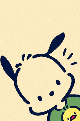 Pochacco - Sanrio, Japan (part of the Hello Kitty group of animations)..