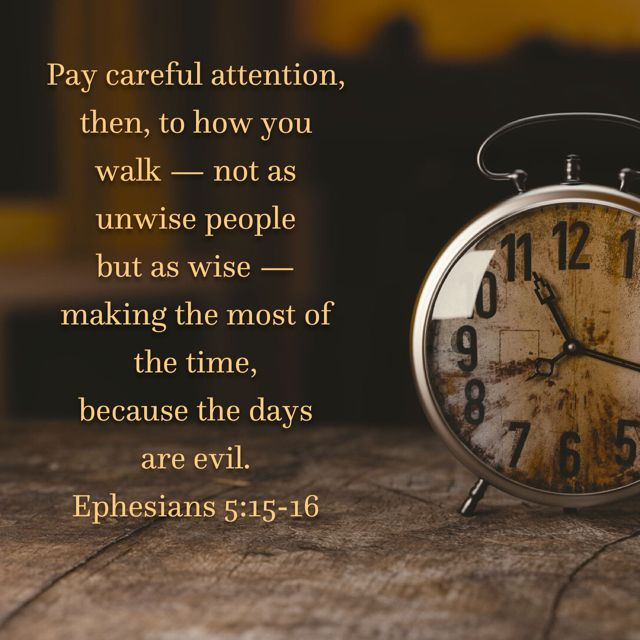 Image result for ephesians 5:15-16 kjv