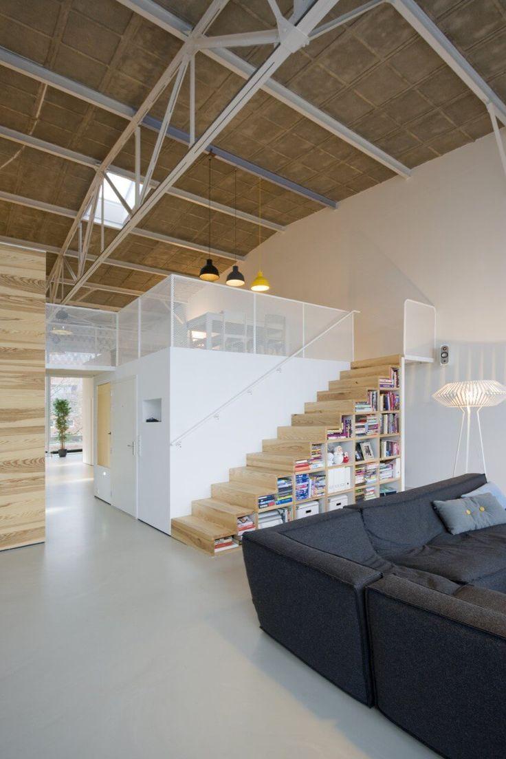 Innenarchitektur Industriellen Stil Karakoy Loft | Möbelideen