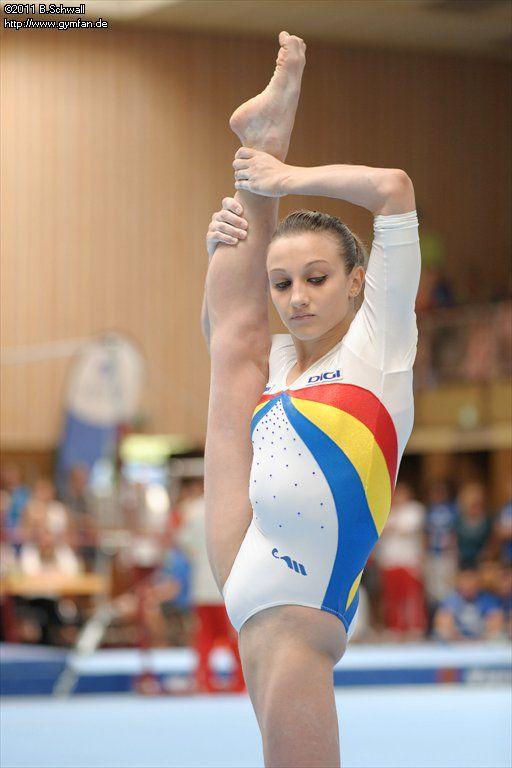 Gymnast upskirt gallery