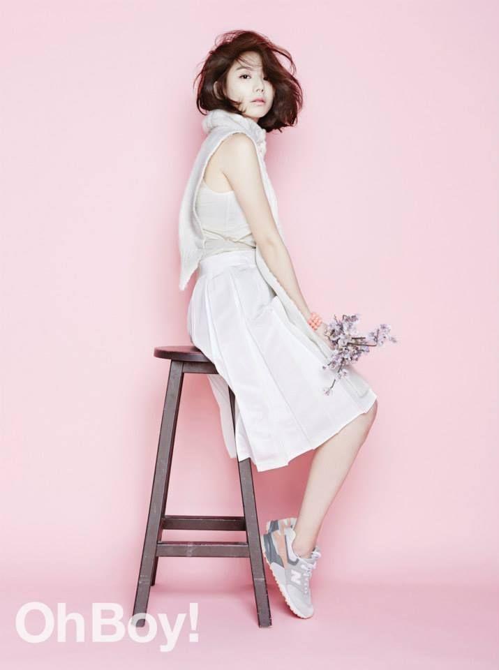 Park Su-Jin 박수진 -Oh Boy!- #newbalance
