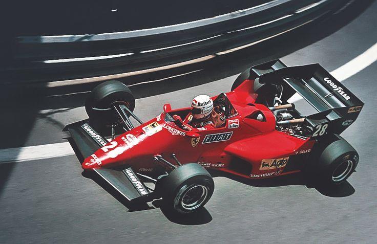 Ferrari F1 , Arnoux, c4, 1984 #Ferrari #F1