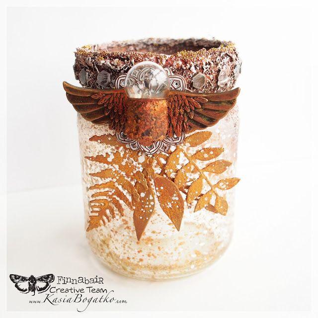 October lantern - Prima Art Recipe by Kasia Bogatko