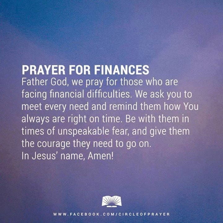 Prayer for Finances!#Prayer for help with #finances Empowering You To Attain…
