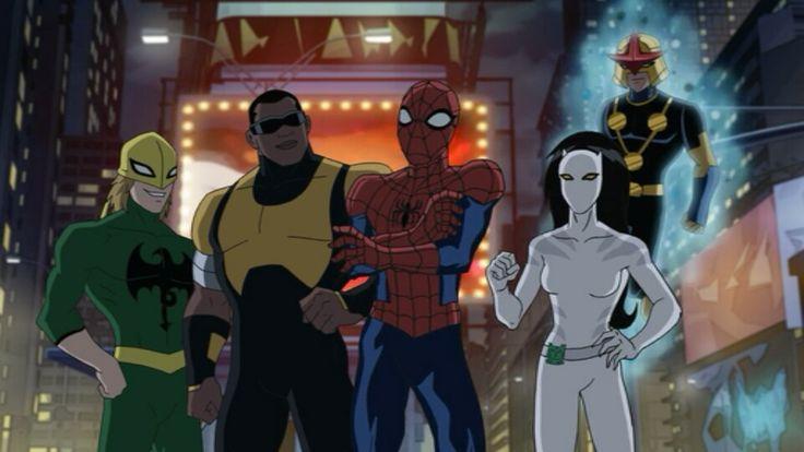 ultimate spider man tv series peter parker