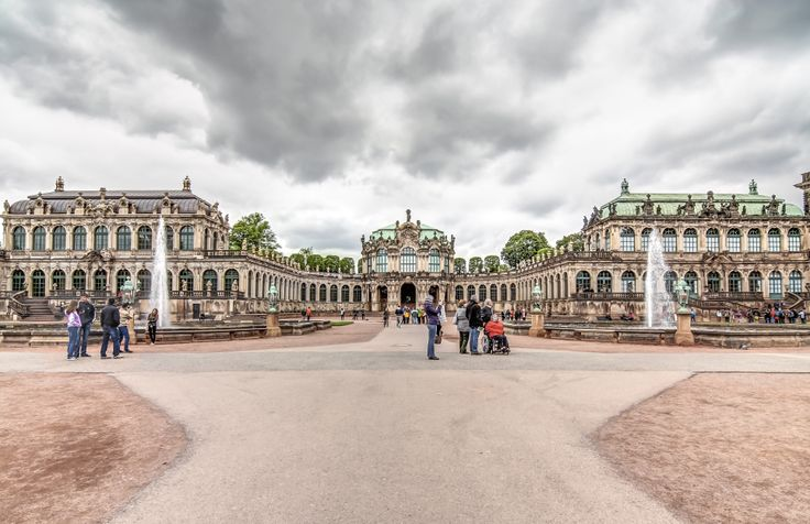 how to get to dresden zwinger palace