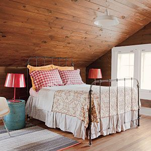 Upstairs bedroom bedrooms and guest bedrooms on pinterest for Upstairs bedroom designs