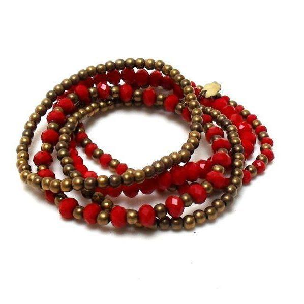 Sábado à noite pede uma cor quente!  Bora aproveitar!  #pulseiras #pulseirismo #moda #estilo #vermelho #moda #estilo #look #red #bracelets #fashion #style #instalook #instalike #instamood #instagood