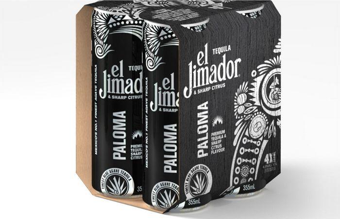 El Jimador Ready to Drink #package design