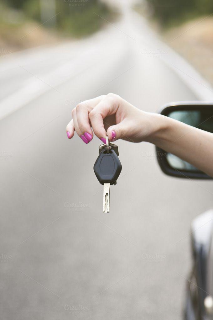 hand car key to travel by pruden.alvarez on Creative Market