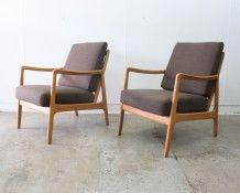 Ole Wanscher armchairs - The Vintage Shop
